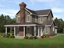 wrap around house plans plan 22092sl narrow lot with wraparound wraparound
