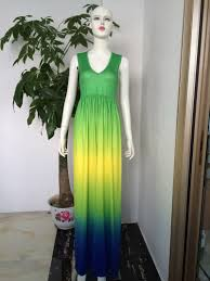 women summer boho lace long maxi evening party dress beach