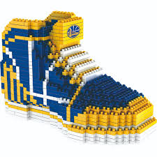 golden state warriors nba 3d sneaker brxlz puzzle by forever