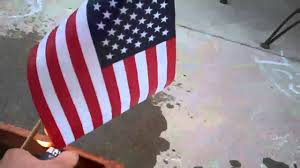 How To Dispose An American Flag July 4th 2011 American Flag Burning Youtube
