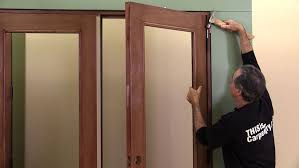 installing a pair of doors thisiscarpentry