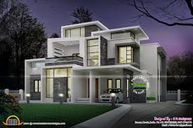 contemporary homes designs modern bungalow designs india indian home design plans kerala