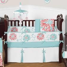 solid color crib bedding in pink blue u0026 more