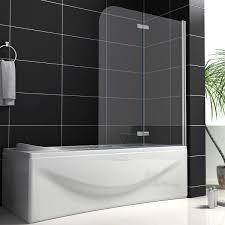 bathroom wondrous bathtub shower screen canada 114 chrome pivot
