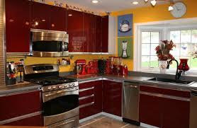 red kitchen accessories ideas kitchen amazing interior european kitchen cabinets image with