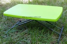 plastic folding tables adjustable height china outdoor hdpe plastic folding table with adjustable height ll