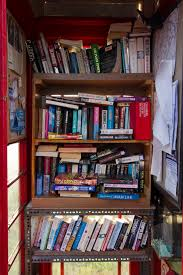 calling all book lovers tiny library proves a big hit with