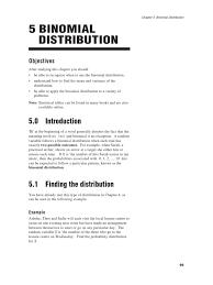 Binomial Probabilities Table Binomial Probability Distribution Probability Distribution