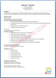 cover letter respiratory therapist responsibilities and duties