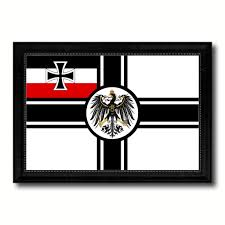 imperial german navy 1867 1871 war military flag canvas print