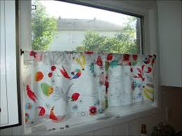 Retro Kitchen Curtains 1950s by Retro Kitchen Curtains Red Retro Kitchen Cafe Curtains Red Set Of