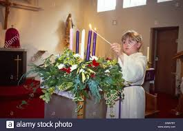advent candle lighting order advent candles stock photos advent candles stock images alamy