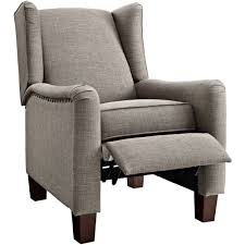 furniture modern reclining chair wide recliners wing back