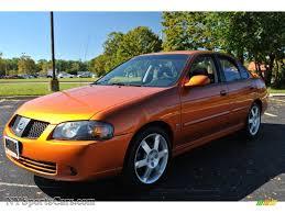 nissan sentra ser spec v 2005 nissan sentra se r spec v in volcanic orange 550157