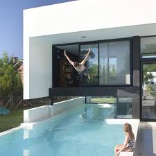 Glass Wall House by Architecture Grand Bell Property Buenos Aires Black U0026white