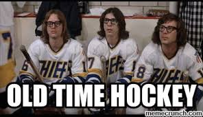 Old Time Meme - time hockey
