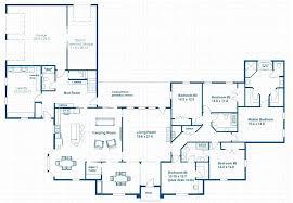 large one story house plans 5 bedroom single story house plans koszi club