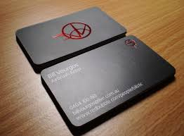 matt laminated business cards freehand design signsfreehand