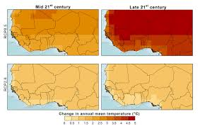 The Sahel Map Climate West Africa