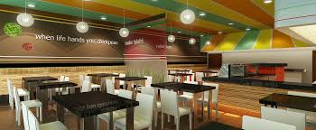 Projects A To Z Commercial  Restaurant Interior Design Firm - Fast food interior design ideas