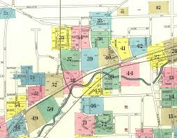 Map Of Nashville Dogtown Map Of Dogtown In 1903 Sanborn Fire Maps
