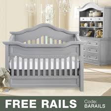 Bed Rails For Convertible Cribs by Baby Appleseed 3 Piece Nursery Set Millbury 3 In 1 Convertible