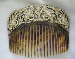 vintage hair combs 24 best antique hair combs images on hair combs hair