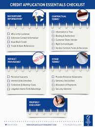 credit application essentials infographic