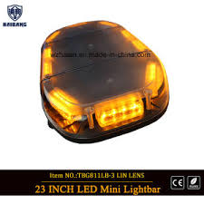 Emergency Light Bars For Trucks China High Bright Amber Warning Strobe Emergency Trucks Auto Cars