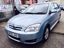 toyota corolla colour collection 1 4 petrol manual 2005 service