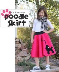 poodle skirt halloween costume halloween costume ideas very low sew poodle skirt make it and