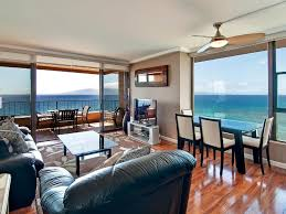 absolutely oceanfront penthouse corner homeaway kaanapali