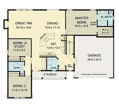 ranch style floor plans what to understand about ranch house floor plans bitdigest design