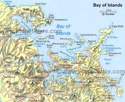 map of ta bay 11 top tourist attractions in the bay of islands planetware
