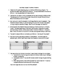 free worksheets time elapsed worksheets word problems free
