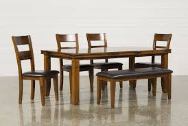 High Dining Room Tables And Chairs by Lancaster 6 Piece Dining Set Living Spaces