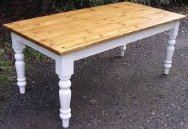 Painted Pine Farmhouse Kitchen Tables Farmhouse Kitchen Tables - Old pine kitchen table