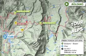 The Alps On World Map by 2017 Tour Of The Alps Live Video Preview Startlist Route