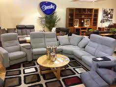 ekornes sectional sofa stressless e200 sofa with seat and 2 one seaters in clementine
