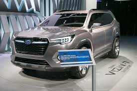 subaru viziv interior subaru viziv 7 suv concept first look review