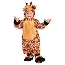 Giraffe Halloween Costume Baby Amazon Child U0027s Toddler Giraffe Costume Size 2 4t Clothing
