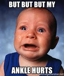 But But Meme Generator - but but but my ankle hurts crying baby meme generator