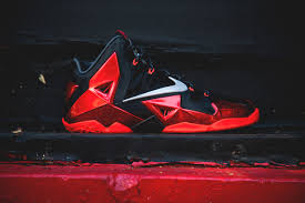 coming soon nike lebron xi university red wish blog