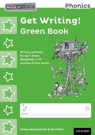 Activity Book For Children 1 6 Oxford Read Write Inc Phonics Get Writing Green Book Pack Of 10 Oxford