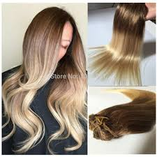 ombre clip in hair extensions aliexpress buy clip in human hair extensions 8 60 ombre