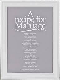 wedding poems a recipe for marriage poem print from www indigobluetrading