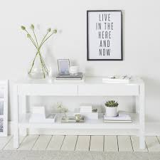 Low Console Table Carlton Low Console Table Tables The White Company Uk