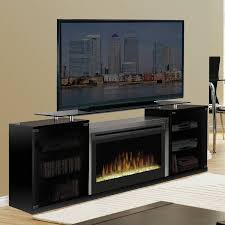 entertainment center with electric fireplace 67 ashley dark