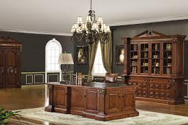 Mahogany Desk Accessories Executive Desk Set In Mahogany Cherry Finish 11398 Office