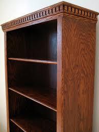 red oak bookcase by uwmu lumberjocks com woodworking community